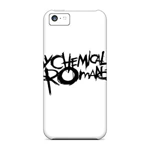 Rosesea Custom Personalized Back Cases Covers For Iphone 5c - My Chemical Romance