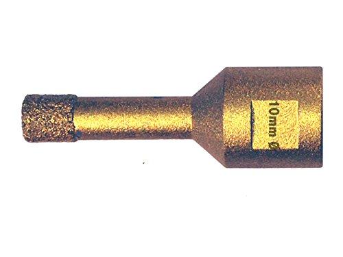 Hohlbohrkrone. Fliesenbohrkrone Diamant Bohrkrone 10mm M14 Gewinde f/ür Winkelschleifer Vakuum verarbeitet Fliesenbohrer