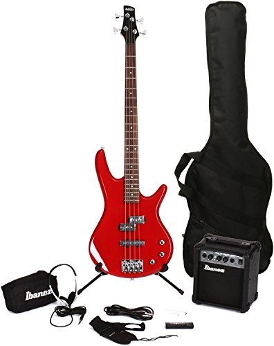 Ibanez IJXB150BRD Jumpstart Bass Package in Red by Ibanez