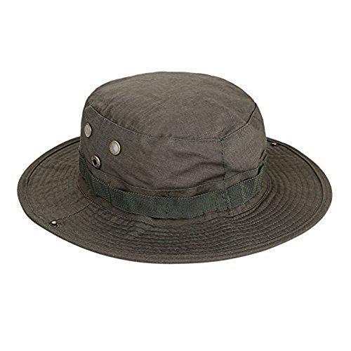 Outdoor Solare Hat Boonie A Westeng Camuffamento Protezione Tattica Forma Larga Green Da Uomo Per Rotonda Cappello Tesa Camouflage Donna Arrampicate Pescatore E AO4Ownfx