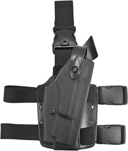 Safariland 6005 SLS Tactical Holster with Quick Release FNH Five-Seven Holster, Black, Right 6005 Sls Tactical Holster