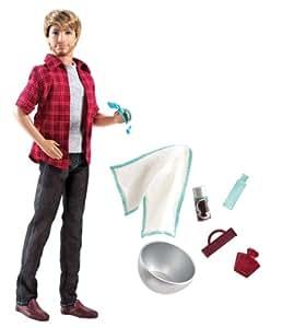 Barbie V3398 - Ken Barba Mágica (Mattel)