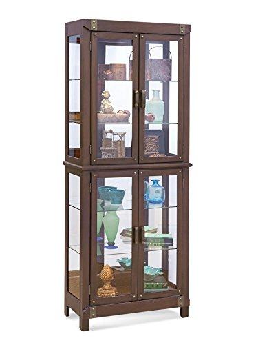 Philip Reinisch Tribeca I Curio Cabinet I, Espresso Finish