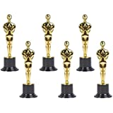 """Oscar Gold Award Trophies, 6"""" Trophy Statues - Oscar Statues - Awards for Party Celebrations, Appreciation Gift, Sport Awards, Academy Awards, Awards for Teachers and Students (Set of 12) By Neliblu"""