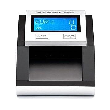Yatek Detector Billetes Falsos EUR,GBP, SEK, con batería, Cuenta Billetes y