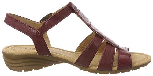 sandalias plana Fitting Gabor 24 Rojo übergrößen De dark Del cómodo Cuña Mujer sandalias sandalias best Cuña red zapatos 550 Verano qqSBwtnA