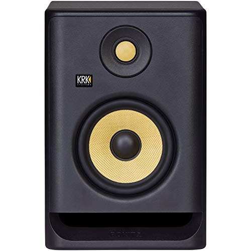 "KRK RP5 ROKIT 5 G4 Professional Bi-Amp 5"" Powered Studio Monitor with Free Isolation Pad and 1 Year EverythingMusic Extended Warranty"