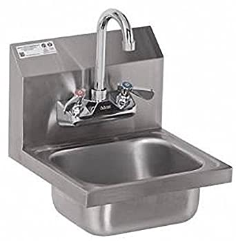 Stainless Steel Hand Sink   NSF   Commercial Equipment 12u0026quot; ...