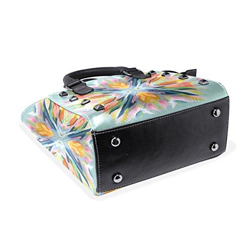 COOSUN - Bolso de asas para mujer multicolor multicolor M Multicolor#1