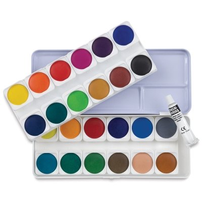 Talens Royal Van Gogh Watercolor Paint, 10ml-Tubes, Set of...