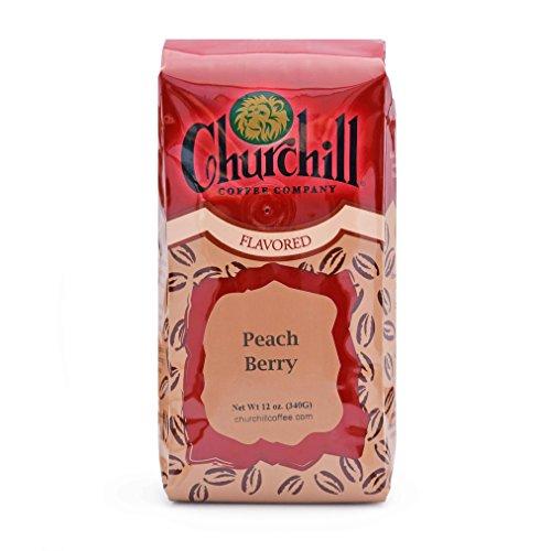 Churchill Coffee Peach Berry 12 oz - Ground