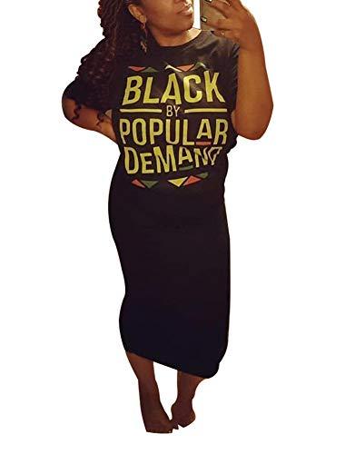 - Women's Boho One Off Shoulder Batwing Long Sleeve Sides Split Plus Size T-Shirt Maxi Dress