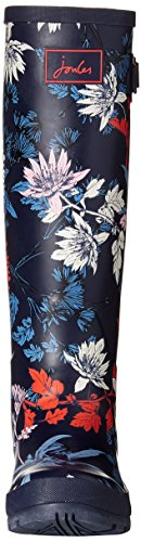Navy Print Welly Tom French Blue Agua Joule Mujer Fay Botas Floral de zq5wn4EpC5