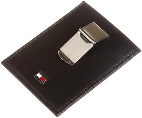 Tommy Hilfiger Men's  Oxford Slim Front Pocket Wallet