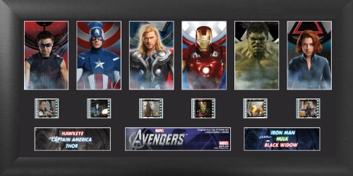 Trend Setters Ltd The Avengers S1 Deluxe Film Cell by Trend Setters