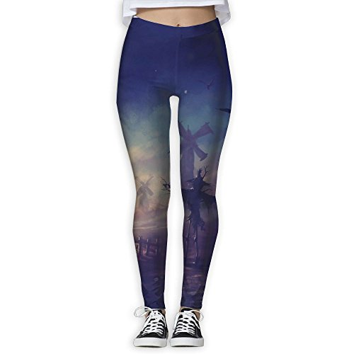 Scary Happy Halloween 3D Printing Yoga Leggings Pants Sport Pilates Workout Skinny Pants]()