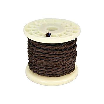 smartWIND Cable Eléctrico Trenzado Textil Vintage Color ...