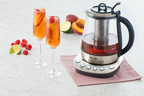 Mr Coffee Tea Maker And Kettle : Mr. Coffee Hot Tea Maker and Kettle, Stainless Steel - Import It All