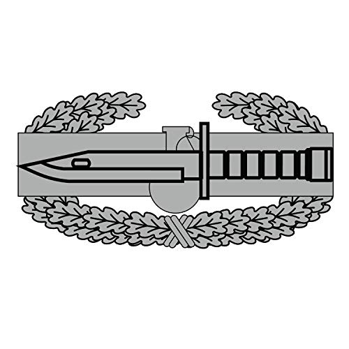 Bent Wookie Combat Action Badge Decal 3.5 Inch Wide - US Army - Made in and Ships from USA Combat Action Badge Decal
