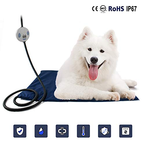 PETLESO Dog Heating Pad – Waterproof Heating Pads for Pets Dogs & Cats with UL Certificate