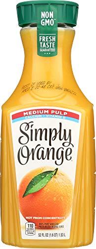 Simply (1 Item ONLY) Orange Medium Pulp with Calcium & Vitamin D Juice