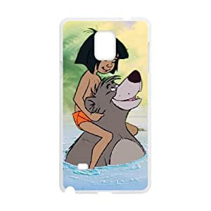 Jungle Book Samsung Galaxy Note 4 Cell Phone Case White yyfabd-365515