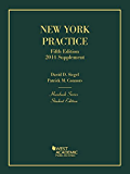 New York Practice, 5th, Student Edition, 2014 Supplement (Hornbook Series): Student Edition, 2014 Supplement