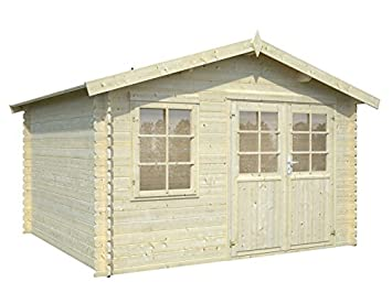 11u0027x10u0027 BZB CABINS Storage Shed Hillside, Backyard, Garden Outdoor Storage  Shed