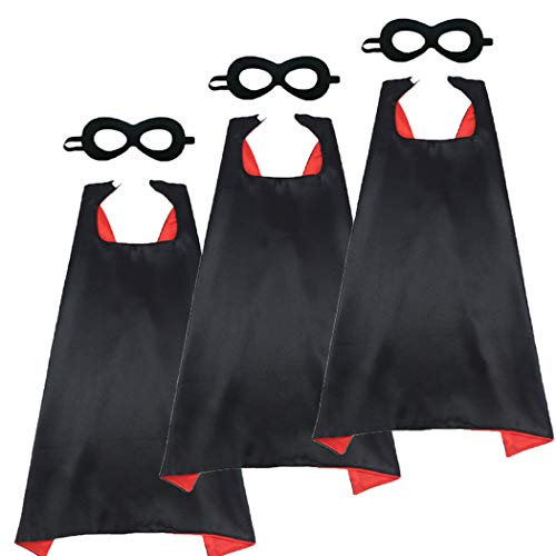 Black Red Adult Costume - iROLEWIN 43