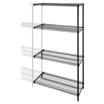 LLR69142 - Lorell Industrial Adjustable Wire Shelving Add-On-Unit