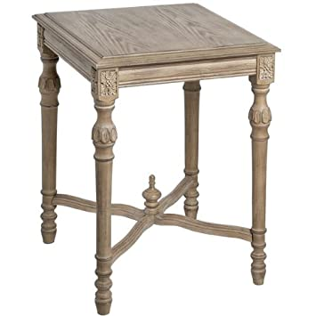 Traditional Limed Oak Side Table Amazon.uk Kitchen  Home