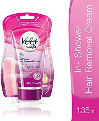 Veet Hair Removal In Shower Cream Supreme Essence 135ml Buy