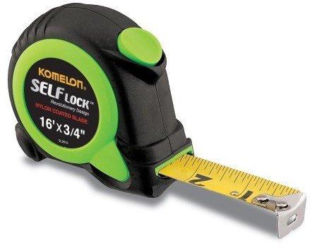 Komelon USA SL2816 3/4'' X 16' Self Locking Power Tape