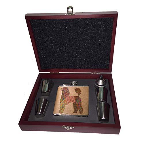 大人気の Sunshine Cases Cases フレンチプードルパターン 6オンス Liquor ヒップフラスコ ヒップフラスコ 木製ボックス ギフトセット B07KVJBKMR ショットグラス&じょうご B07KVJBKMR, 益子焼 和食器通販 わかさま陶芸:4cc8670d --- a0267596.xsph.ru