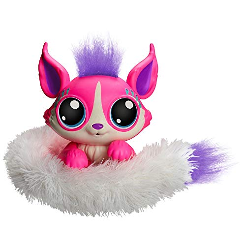 Lil' Gleemerz Adorbrite Figure, Pink (Responds to Touch and Sound with Over 100 Reactions)