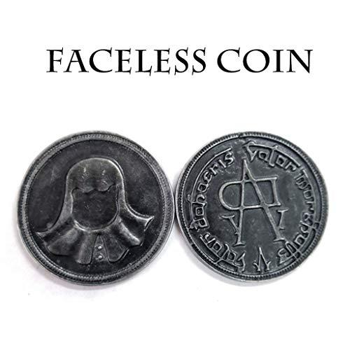 (Efaster A of Thrones Iron Coin of The Faceless Man Arya Stark Valar Morghulis (2 Pcs))