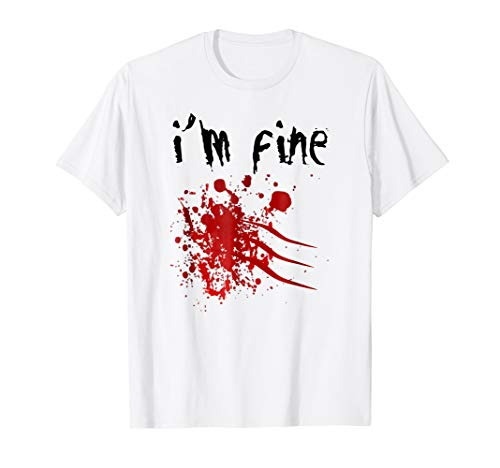 I'm Fine Zombie Attack Survivor Halloween Costume -