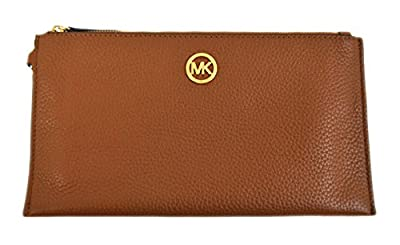Michael Kors Fulton Leather Clutch Wristlet Luggage