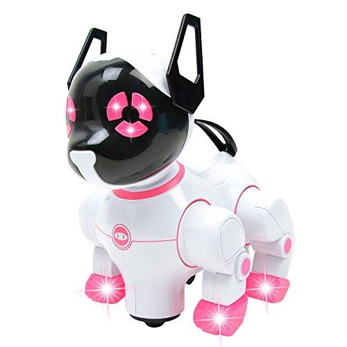 Andensoner Chiens de Compagnie électriques Chantant Dansant Robot Chiens W / Musique Enfants Enfants Jeux drôles Jouets Jouet Cadeau