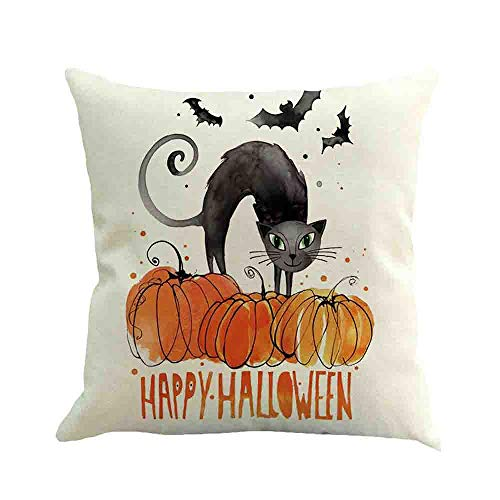 WFeieig_Halloween Standard Pillow Shams100% Brushed Microfiber, Soft and Cozy, Wrinkle, Fade, Stain Resistant (Black, Standard) -