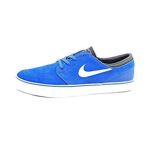 Nike Zoom Stefan Janoski Mens Size 12 Blue Suede Sneakers Shoes UK 11 EU 46