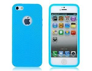 TR Funda protectora para el iPhone 5 rayas (azul)