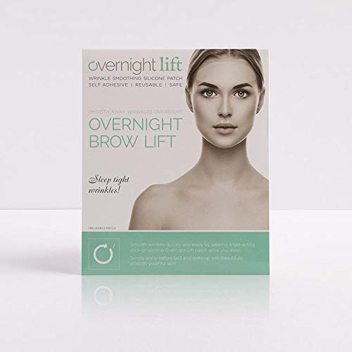 41fPR82jotL - Overnight Lift Brow Lift Forehead Anti- Wrinkle Patch - Reusable Smoothing 100% Silicone Patch Expression Lines Creases Self-Adhesive