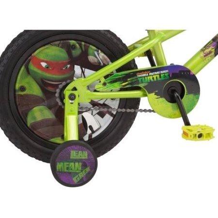 Teenage Mutant Ninja Turtles 16'' Boys' Bike with matching TMNT Raphael Helmet, TMNT Pads and Gloves, Bundle by Teenage Mutant Ninja Turtles (Image #6)
