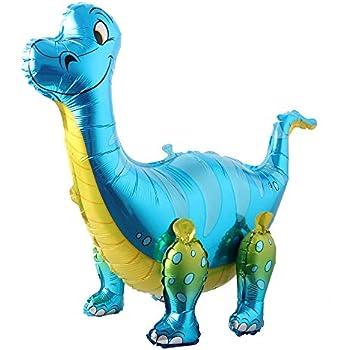 Amazon.com: 3 globos de dinosaurio de Mylar Walker para ...
