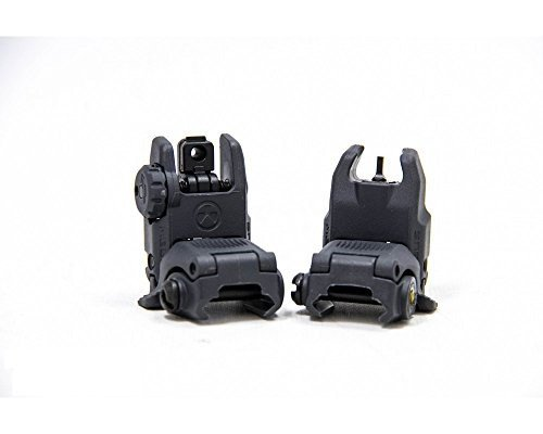 (Magpul Industries MBUS Generation II Sight Set Front & Rear Color- Stealth Gray)
