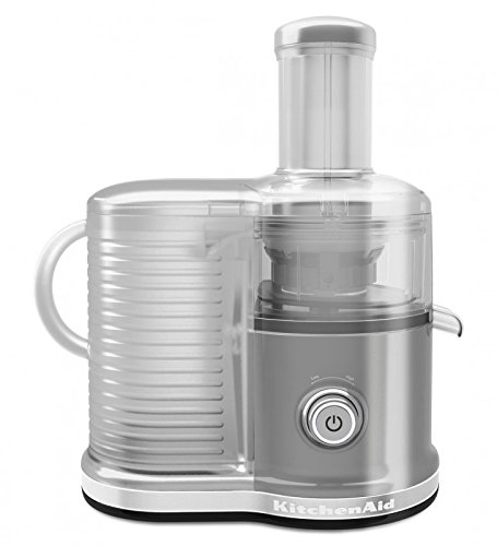KitchenAid 5KVJ0333 - Exprimidor eléctrico, 500 w, color gris: Amazon.es: Hogar