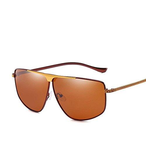 polarizados piernas Libre al del Hombres Gafas Hombres Metal Aire Remache Axiba A Espejo creativos Sol Decorativo Sol Regalos de de Gafas de piloto 58AZxpq