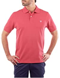 Playera Polo Manga Corta Regular Fit Rosa Obscuro