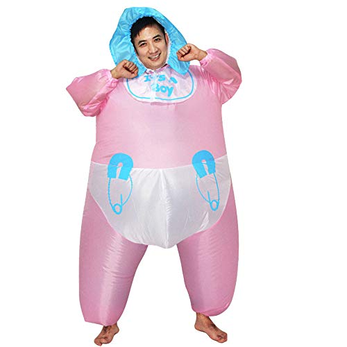HUAYUARTS Men's Inflatable Costume Boys Giant Blow up Party Halloween Christmas Child Baby Cosplay